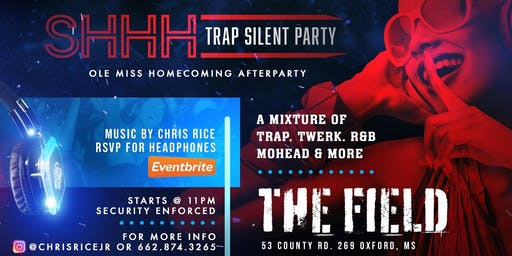 """SHHH"" Trap Silent Party"