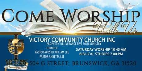 Victory Community Church Saturday Service tickets