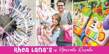 Rhea Lana's AMAZING Children's Consignment Sale in Muskogee! tickets