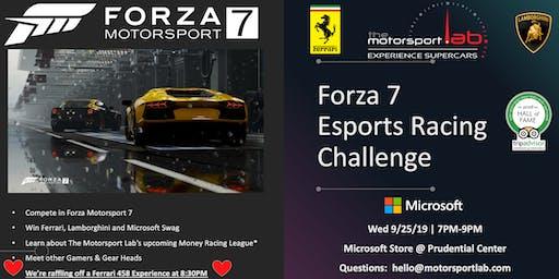 Forza7 eSports Racing Challenge eGame MSL X MSFT