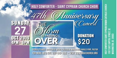 Holy Comforter - St. Cyprian Church Choir 47th Anniversary Concert tickets