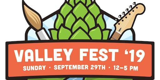Valleyfest '19 Art Vendor Booth Fee