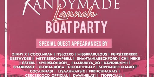 KANDYMADE LAUNCH BOAT PARTY
