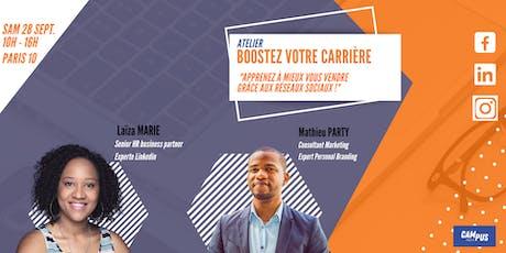 Coaching Linkedin et Personal Branding - Paris tickets
