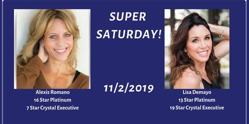 Super Saturday with Alexis Romano and Lisa Demayo!