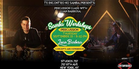 Samba Workshops: Luan Barbosa  tickets