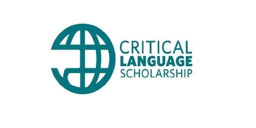 Critical Language Scholarship: Writing Workshop
