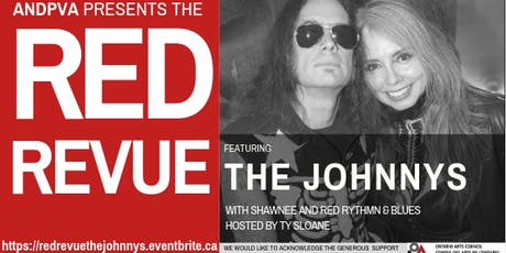 The Red Revue featuring The Johnnys, Shawnee, Red Rhythm and Blues tickets