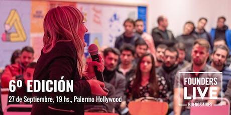 Founders Live Buenos Aires - 6ta Edicion entradas