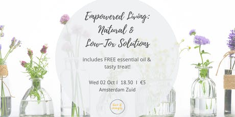 Empowered Living - Natural and Low-Tox Living with Essential Oils tickets