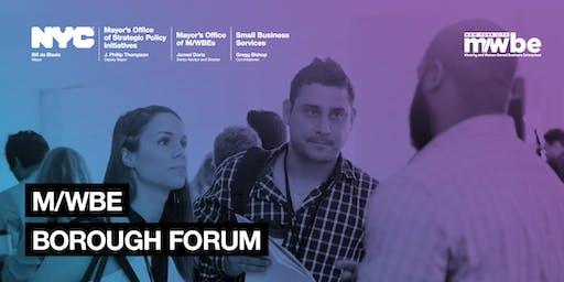 Queens M/WBE Forum