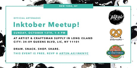 Inktober Meetup in New York City! tickets