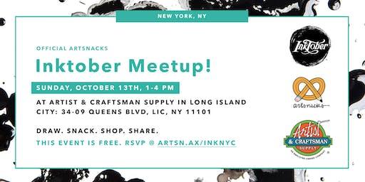 Inktober Meetup in New York City!