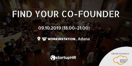 Find Your Co-Founder Adana #2 – StartupHR tickets