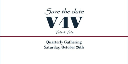 Vets 4 Vets 4th Quarterly Gathering Exhibitor Signup - October 26th, 2019