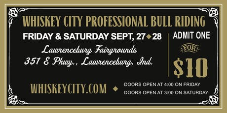 Whiskey City Rodeo tickets