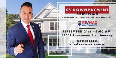 FREE 0% DOWN PAYMENT FIRST TIME HOMEBUYER SEMINAR tickets