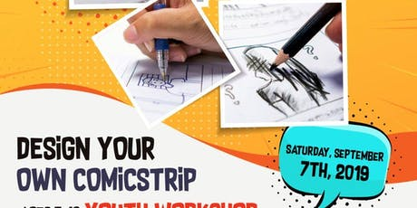 Free Comic Strip Youth Workshop tickets