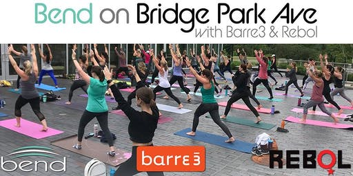 Bend on Bridge Park Ave with Barre3 & Rebol
