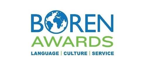 Boren Scholarship: Writing Workshop