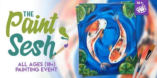 Paint Night in Claremont, CA - Koi Pond (18+)