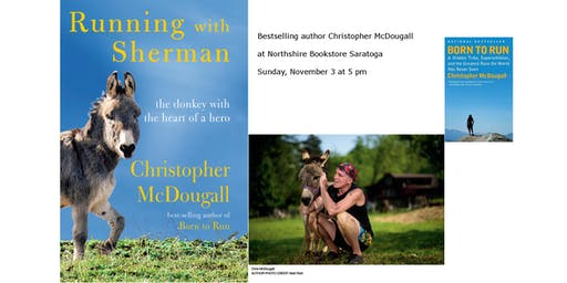 "Christopher McDougall ""Running with Sherman"""