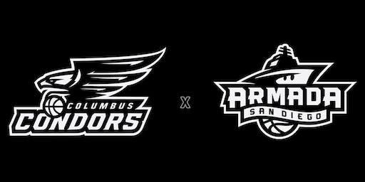 Columbus Condors + San Diego Armada Dual Basketball Combine