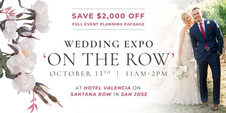 WEDDING EXPO ON THE ROW tickets