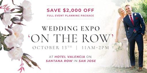 WEDDING EXPO ON THE ROW