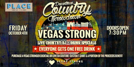 Vegas Strong Downtown Country Throwdown tickets