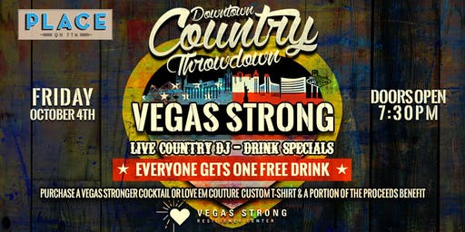 Vegas Strong Downtown Country Throwdown