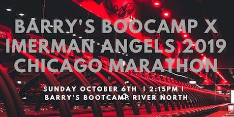 Barry's Bootcamp x Imerman Angels 2019 Chicago Marathon tickets