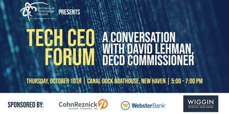 Tech CEO Forum: A conversation with David Lehman, DECD commissioner tickets