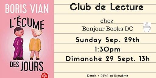 Club de Lecture (Adults)