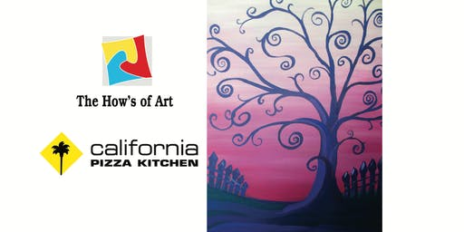 Fun Painting Class at California Pizza Kitchen. FOOD & WINE INCLUDED!