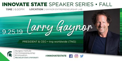 Innovate State, with Larry Gaynor