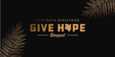 2019 GOYA - Give Hope Dinner Banquet