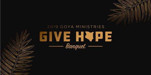 2019 GOYA - Give Hope Dinner Banquet