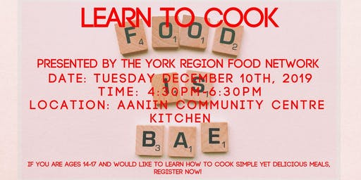 Learn To Cook- Youth