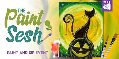 """Paint Night in Riverside, CA - """"Spooky Eve"""""""