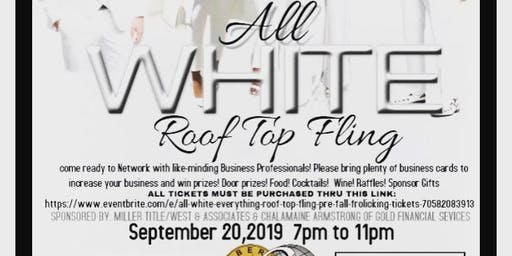 All White Everything Roof Top Fling: # Pre-Fall Frolicking!!!
