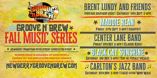 Newberry Groove N Brew Fall Music Series