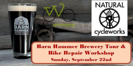Barn Hammer Brewery Tour & Bike Repair Workshop