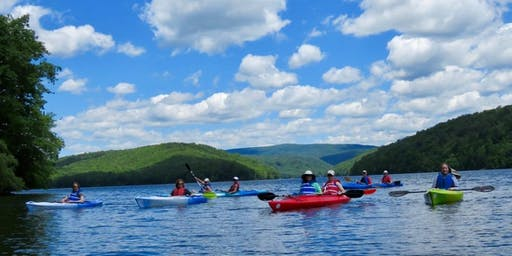 Neversink Reservoir Paddle Oct 19 2019