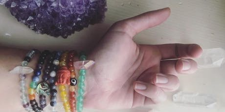 Meditate and Create: Crystal Healing Energy Bracelet tickets