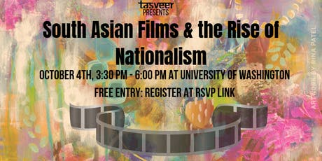 TSAFF2019: Symposium: South Asian Films & Rise of Nationalism tickets