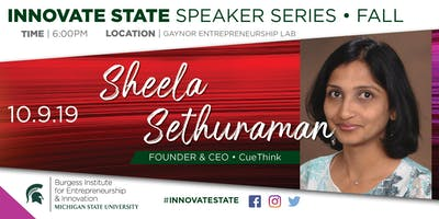 Innovate State, with Sheela Sethuraman