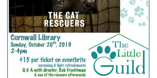 """The Cat Rescuers"" Documentary Screening to Benefit the Little Guild"