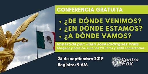 Conferencia Juan José Rodriguez Prats