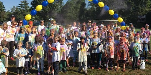 St. Margaret's Color Run 2019